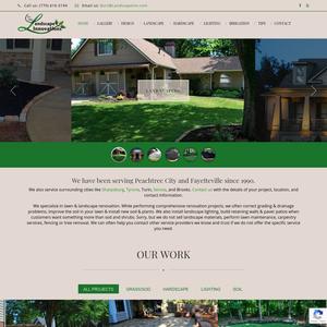 Landscape Innovations website
