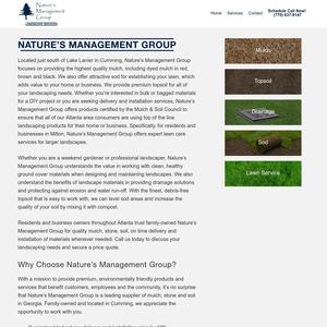 Nature's Management Group website